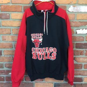 Vintage 1992 Chicago Bulls pullover fits like L